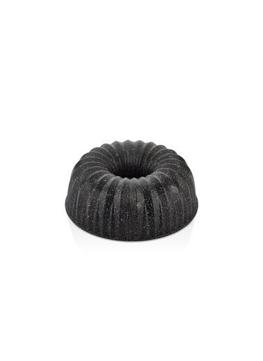 Bernardo Carla Döküm Granit Siyah Kek Kalıbı Siyah